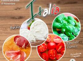 Piadina del mese di Novembre: l'Italia